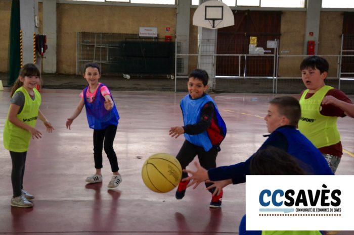 Rencontres basket inter-écoles - avril 2019-7 - Tournoi des CE2 de Montpézat, Polastron et Samatan à la Halle à la volaille de Samatan