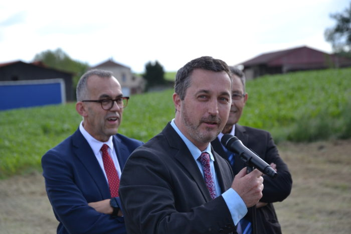 Carrefour de Montamat - juin 2019 - Guy Fitzer, secrétaire général de la préfecture