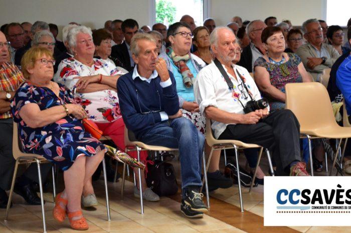 Inauguration mairie Pellefigue - juillet 2019-2 - le public avait répondu présent