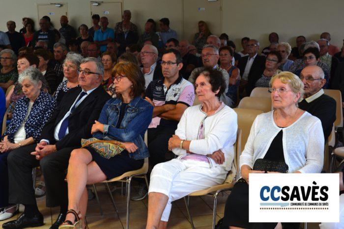 Inauguration mairie Pellefigue - juillet 2019-3 - le public avait répondu présent