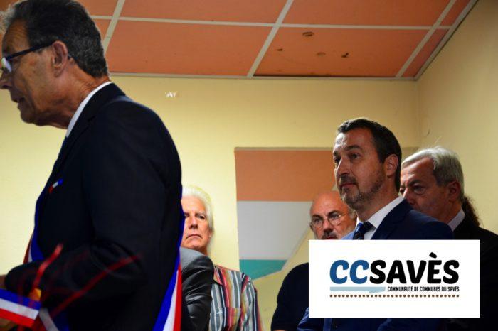 Inauguration mairie Pellefigue - juillet 2019-7 - Guy Fitzer, secrétaire général de la Préfecture