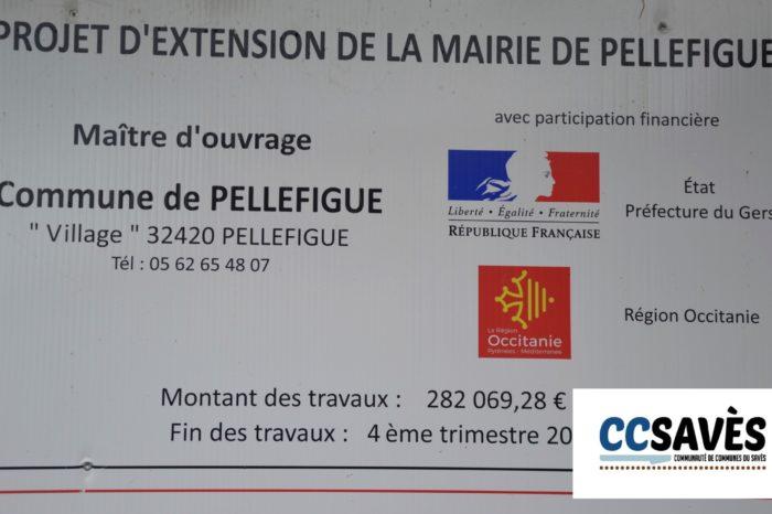 Inauguration mairie Pellefigue - juillet 2019