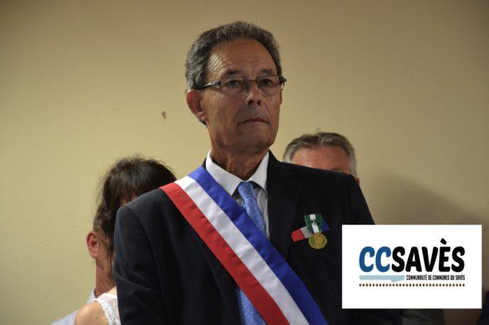 Inauguration nouvelle mairie Pellefigue - juillet 2019 - Alain Sancerry honoré
