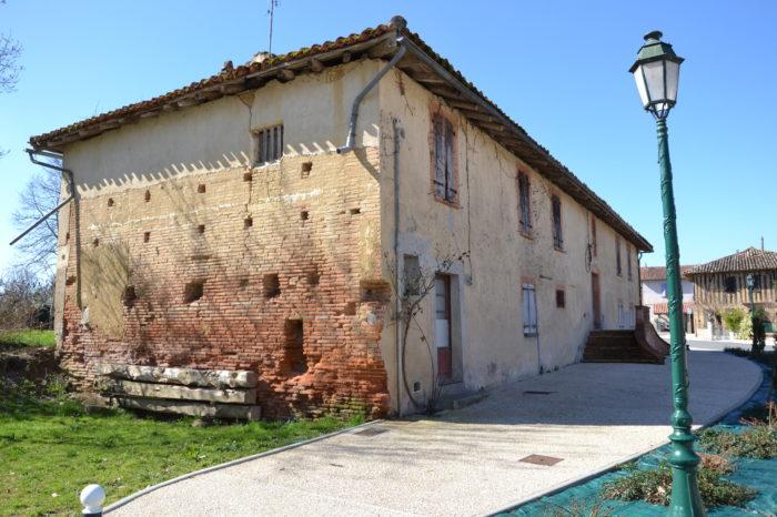 Cazaux-Savès - Le presbytère avant les travaux