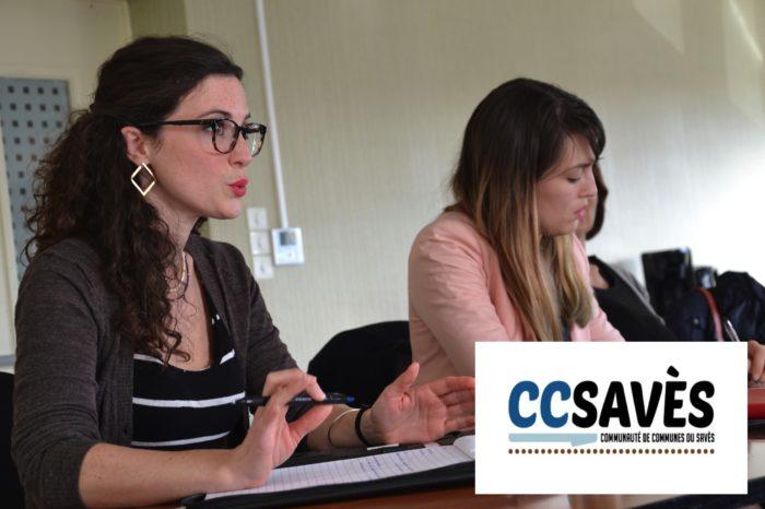 Commission menus - novembre 2019-1 - Les représentantes de la société Api, en charge de la restauration scolaire dans les écoles du Savès.