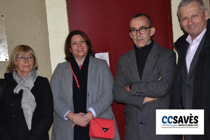 Auditoriym Tournan - décembre 2019-3 - Yvette Ribes, Edwige Darracq, Hervé Lefebvre et Jean-René Cazeneuve