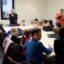 Visite civique des enfants de l'Alae à monsieur le maire