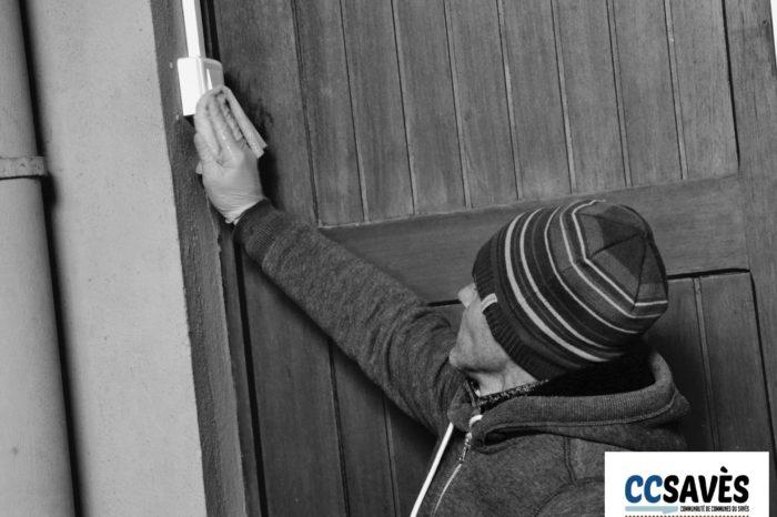 Confinement école y chaze-9 - Une constance : le nettoyage