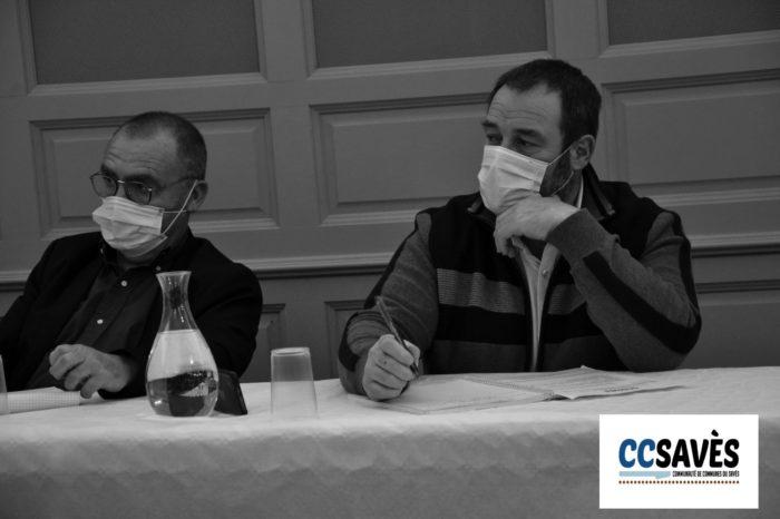 Conseil communautaire Cazaux-Savès - octobre 2020-2