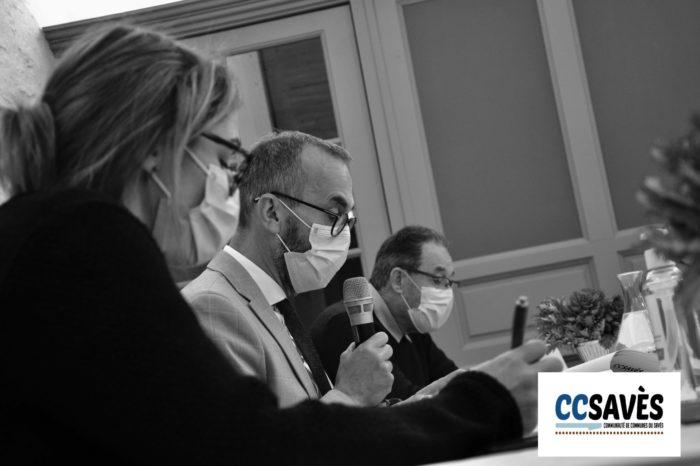Conseil communautaire Cazaux-Savès - octobre 2020