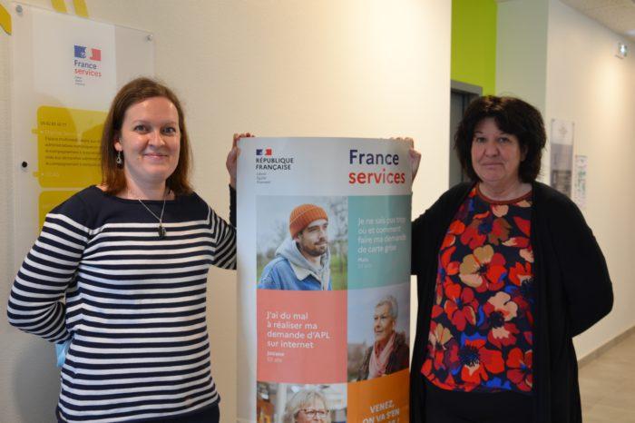DSC_0886 - Aurélie Balardelle et Chantal Fréchou, les deux agents de France services