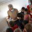 Première visite scolaire au Dolium