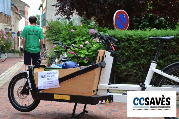 BIM - Juillet 2021 - vélo-cargo estampillé Bim !