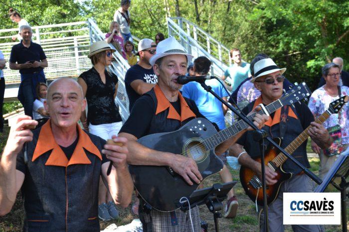 Lombez- Un été dans le Savès juillet 2021-1 - Et un dernier petit coup de musique avant les chevaux