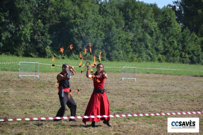 Lombez- Un été dans le Savès juillet 2021-5 - Ne pas jouer avec le feu ?