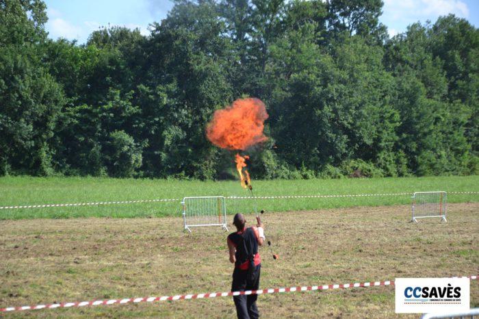 Lombez- Un été dans le Savès juillet 2021-6 - Fire !