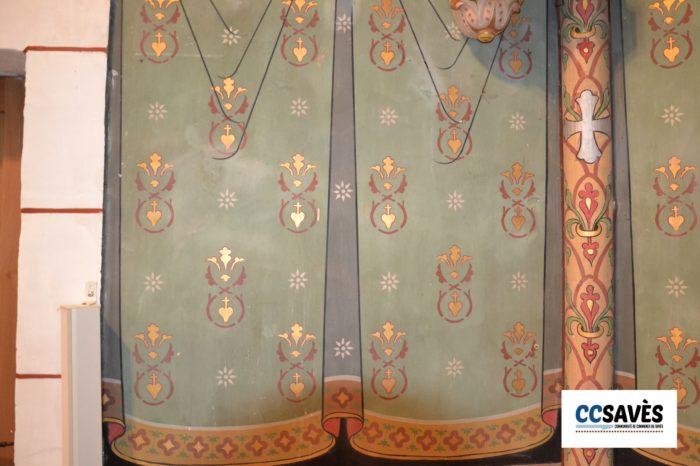 Un été dans le Savès - Sabaillan 2021-2 - Une église qui retrouve son lustre