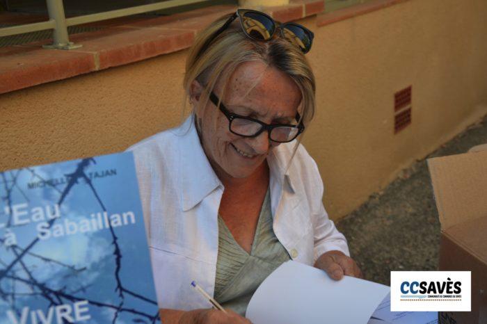 Un été dans le Savès - Sabaillan 2021 - Michelle Tajan en grande dédicace