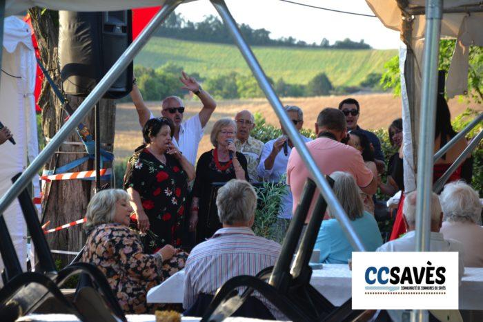 Un été dans le Savès - Savignac juillet 2021-1 - Chorale d'apéritif