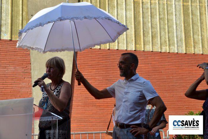 Un été dans le Savès - théâtre d'été juillet 2021-11 - Le maire de la Présidente